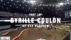 Onboard: Cyrille Coulon - 2017 Glasgow Arenacross UK Track Preview
