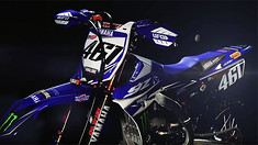 Monster Energy Yamaha Factory MXGP 2017 YZ450FM