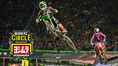 "Eli Tomac: ""I can't back off when I have these two guys sitting next to me."""