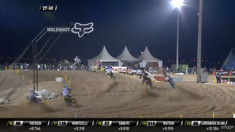 CRASH: Samuele Bernardini - 2017 MXGP of Qatar