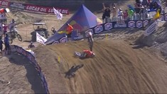 CRASH: Cameron McAdoo - 2017 Glen Helen Motocross National