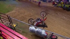CRASH: Jeremy Hand - 2017 RedBud Motocross National