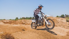 Darryn Durham Tests Supercross with Alta Motors