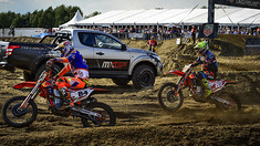 Jeffrey Herlings & Antonio Cairoli Battle - 2017 MXGP of Belgium