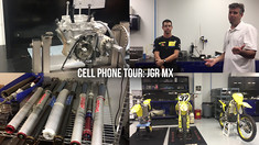 Cell Phone Tour: JGR MX's Race Shop