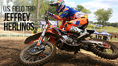 U.S. Field Trip: Jeffrey Herlings