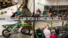Kawasaki Christmas Party - Team Intro for Supercross and Arenacross