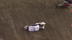 CRASH: Cole Seely - 2018 Tampa Supercross