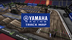 2018 Salt Lake City Supercross - Animated Track Map