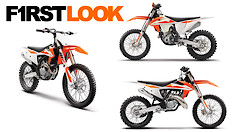 First Look: 2019 KTM Motocross and Cross-Country Models
