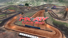 2018 Thunder Valley Motocross National - Animated Track Map