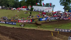 CRASH: Jeremy Martin Thrown from His Bike