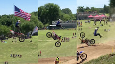 CRASH Video: Amateur Endos on Larocco's Leap!