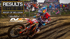 Results Sheet: 2018 MXGP of Belgium
