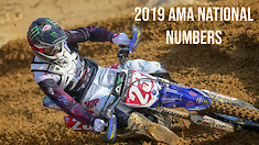 2019 AMA Motocross/Supercross National Rider Numbers