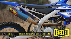 Tested: FMF Factory 4.1 RCT Titanium Full System
