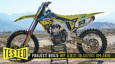 Yellow Redemption: 2019 Suzuki RM-Z450 Race Bike Build