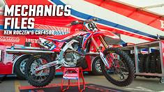 Mechanics Files: Ken Roczen's CRF450R