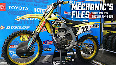Mechanic's Files: Chad Reed's Suzuki RM-Z450