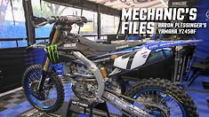 Mechanic's Files: Aaron Plessinger's Yamaha YZ450F