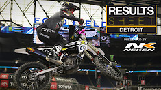 Results Sheet: 2019 Detroit Supercross