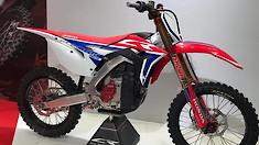 Honda's CR Prototype Electric Dirt Bike