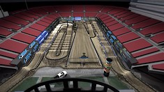 2019 Las Vegas Supercross - Animated Track Map