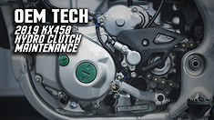 OEM Tech: 2019 KX450 Hydraulic Clutch Maintenance