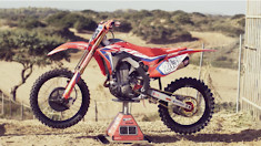 The science of a CRF - with the HRC CRF450RW