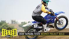 2019 YZ125 Project Bike | Jake Weimer Special
