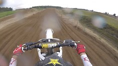 Onboard: Jason Anderson - Training at Lommel