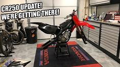 Cole Seely's Vlog - CR250 Bike Build, Episode 7