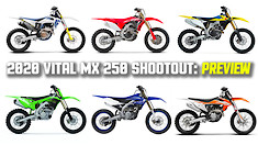 2020 Vital MX 250 Shootout: PREVIEW