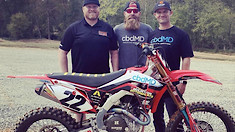 Chad Reed to Race Monster Energy Cup Aboard Privateer Honda