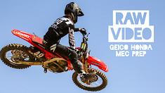 RAW: GEICO Honda MEC Prep