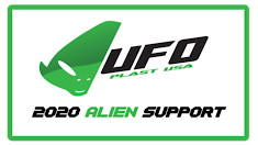 UFO Plastic Announces Details of 2020 USA Rider Support Program