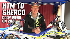KTM to Sherco: Cody Webb Talks 2020 Plans