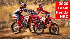 Team Honda HRC 2020 with Ken Roczen and Justin Brayton - Intro Video
