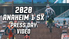 2020 Anaheim 1 Supercross Press Day Video