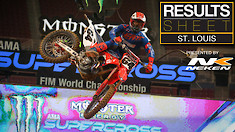Results Sheet: St. Louis Supercross