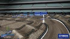 Anaheim 2 Supercross - Animated Track Map