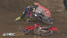 Crash Compilation: Anaheim 2 Supercross