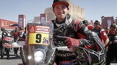 Honda HRC Rally Racer Ricky Brabec Makes History Winning Dakar Rally