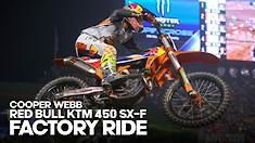 FACTORY BIKE: Cooper Webb KTM 450