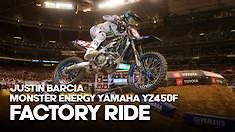 FACTORY BIKE: Justin Barcia Monster Energy Yamaha YZ450F
