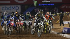 Glendale Supercross - 250 & 450 Triple Crown Highlights