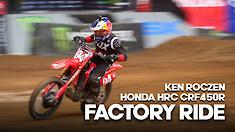 FACTORY BIKE: Ken Roczen Honda HRC CRF450R
