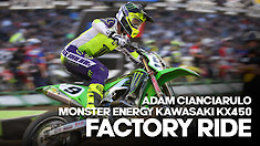 FACTORY BIKE: Adam Cianciarulo Monster Energy Kawasaki KX450