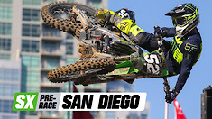 Supercross Pre-Race: San Diego