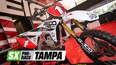 Supercross Pre-Race: Tampa